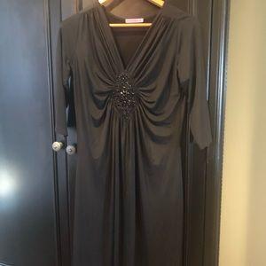 Maternity cocktail dress